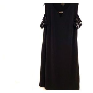 JM Collections black evening dress size XXL